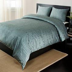 Teal bedspread duvet Home Classics Biltmore 3-pc. Duvet Cover Set