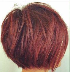 9.Hairstyle de cabelo curto em camadas