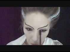 Bride of Frankenstein make up