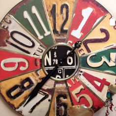 #diy #howto Recycled clock