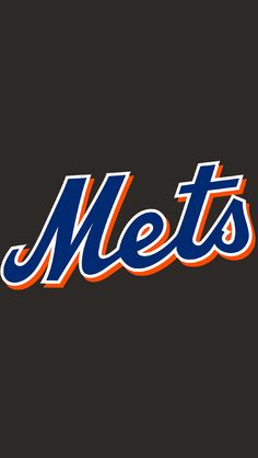 new york mets logo iphone wallpaper wallpapers pinterest
