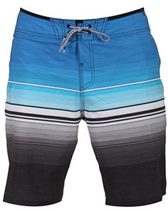 Reef Mens Emsea Boardshort Size 34 Blue * Click the VISIT button to enter the Amazon website