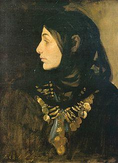 The Fellah Woman, John Singer Sargent