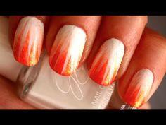 Summer sunburst #nails
