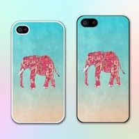 Cute Elephant Cell Phone Case Cover for iPhone 6,iPhone 6 plus,iPhone 6s,iPhone 6s plus,,iPhone 5s,iPhone 5c,iPhone 4s ,Samsung Galaxy S3/S4/S5/S6/S7 Note2/Note3/Note4/Note5,Hard Phone Case