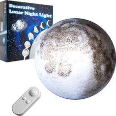 Стенна лампа Луна с дистанционно