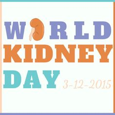 Today is #WorldKidneyDay! There are currently more than 100,000 people in the U.S. on the waiting list for a life-saving kidney transplant. YOU have the power to save a life by registering today to be an #organdonor!