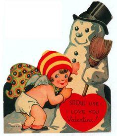 Weird and kinda creepy vintage Valentine's cards. Valentine Images, My Funny Valentine, Vintage Valentine Cards, Vintage Greeting Cards, Vintage Holiday, Valentine Crafts, Valentine Day Cards, Vintage Postcards, Happy Valentines Day