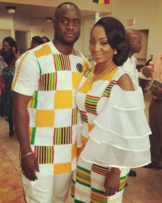 See How Ghanaian Couples Are Rocking This Iconic Super Luxe Big Day Looks in Kente - Wedding Digest Naija African Fashion Designers, African Men Fashion, Africa Fashion, African Fashion Dresses, African Attire, African Wear, African Women, African Dress, African Style