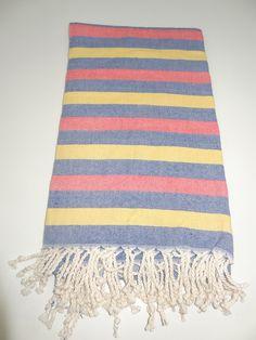 Turkish Towel Pestemal#57 Turkish Towels, Beach Towel, Picnic Blanket, Hand Weaving, Cotton, Athens Greece, Hand Knitting, Picnic Quilt, Weaving