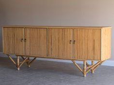 Rattan/ Bamboo Sideboard