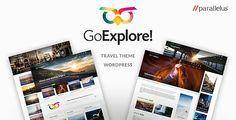 GoExplore! v1.3.6 – Travel WordPress Theme