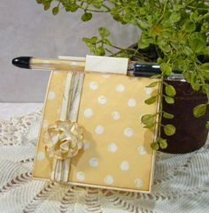 Post it Note Holder and tutorial