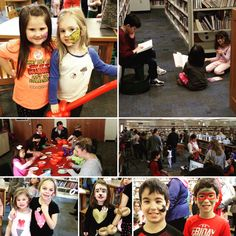 Take Your Child to the Library Day Fun!