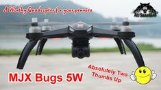 Watch this before you buy MJX Bugs 5W RC Quadcopter  You can buy the quadcopter here. http://bit.ly/2HOj7a8
