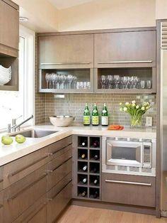 FAVORITE COLOR DESIGN LAYOUT Best small kitchen ideas