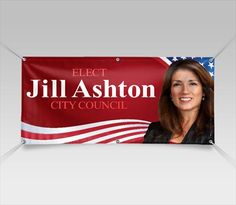 Campaign Banners, Political Banners For All Candidates - Signazon