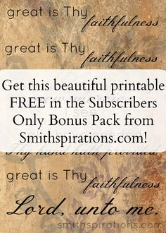 This beautiful printable is totally FREE! Get it by joining the Smithspirations newsletter community.