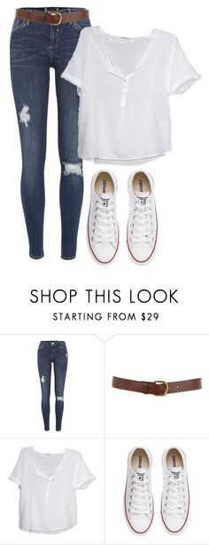 """Untitled #13264"" by danisalalkamis ❤ liked on Polyvore featuring River Island, Warehouse, American Vintage and Converse"
