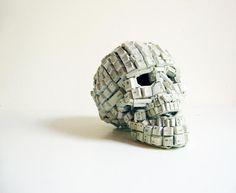 skull from keyboard keys