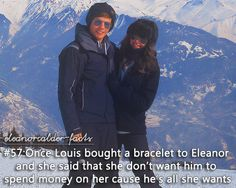 OMG that's sooo sweet!!!!!                        Louis Tomlinson+Eleanor Calder=PERFECT COUPLE!!!!!