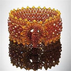 Sun and Topaz Serrated Cuff- School of Beadwork kit