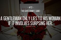 The Gentleman's Guide #72
