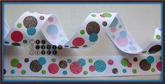 78+Ice+Cream+Glitter+Dots+Grosgrain+Ribbon+by+RibbonandVinylShack,+$1.08