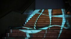 Projection Mapping - Stairs | University Art Day on Vimeo