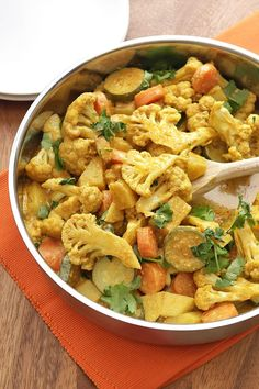 Easy 30-minute vegetable korma curry recipe