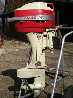 Vintage outboard motor   Vintage Marine, Nautical, and Water Stuff ...