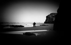 MCanimages posted a photo:  Recorrer La Playa de las Catedrales a última hora de la tarde cuando estás prácticamente sólo, es una inolvidable experiencia.