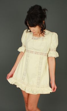 Love the babydoll dress! Think I'd have to wear this with some jeans tho, kinda short!