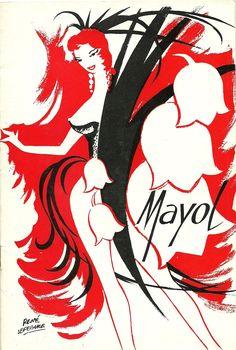 "Legendary Concert Mayol Paris.Programme 1962.Considered as ""le Folies Bergere du pauvre"";Well, it was a good definition..."