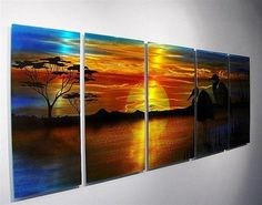 Cool Home Decor on Pinterest | Metal Wall Art, Abstract and ...