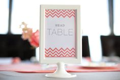 chevron bedazzled table signs  Photography by elizabethscottphotography.com, Event Planning by sweetnovemberevents.com