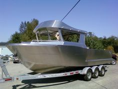 Specialized Marine aluminum boat plans - Orca 26