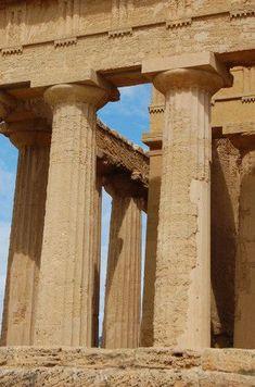 Sicile Agrigente vallee des temples (8) #ancientgreekarchitecture