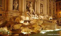 Trevi Fountain (Fontana di Trevi), The Fountain