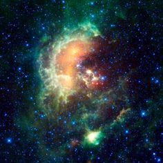 Asteroid Caught Marching Across Tadpole Nebula