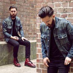 【型男TALK】1460「Dr. Martens」8-eye經典馬汀靴怎麼搭配? - Page 4 | manfashion這樣變型男-最平易近人的男性時尚網站