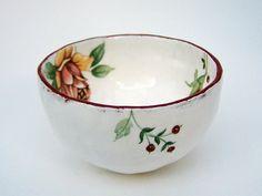 Small ceramic bowl  pottery bowl  Jewellery bowl  by susansimonini, $24.00