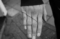 15 Delicate Finger Tats That Will Make You Want to Get Inked ASAP via Brit + Co