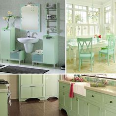 Home Dzine Decorating With Mint Green