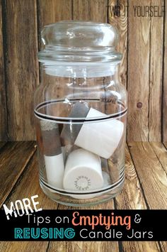 {More} Tips to Empty a Yankee Candle Jar (Pt 2)