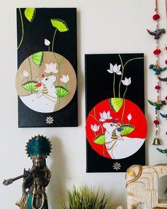 Pichwai Paintings, Indian Art Paintings, Bubble Painting, Mural Painting, Madhubani Art, Indian Folk Art, Madhubani Painting, Traditional Paintings, Diy Canvas Art