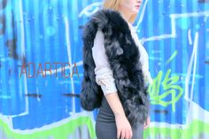 Winter Collection, Fur Coat, Fall Winter, Trending Outfits, Etsy, Shopping, Handmade, Fashion, Moda