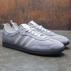 sports shoes a47cb a5f17 Adidas x C.P. Company Men Samba gray clear granite off white Adidas Samba,  Adidas Men
