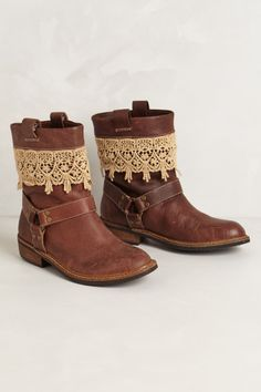 Zephyr Moto Boots - these are actually pretty cute in a girly way.