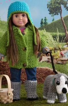 Die 62 Besten Bilder Von Puppenkleidung Stricken Häkeln In 2019
